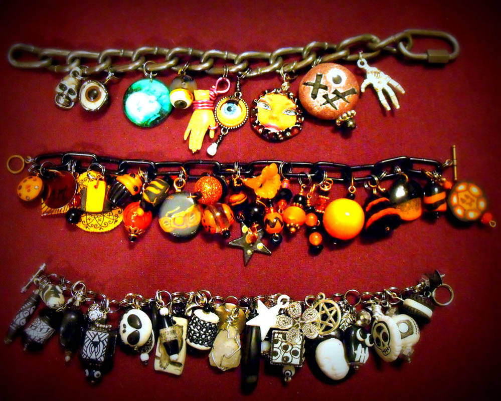 Charm Bracelet Collection 3 by mintdawn