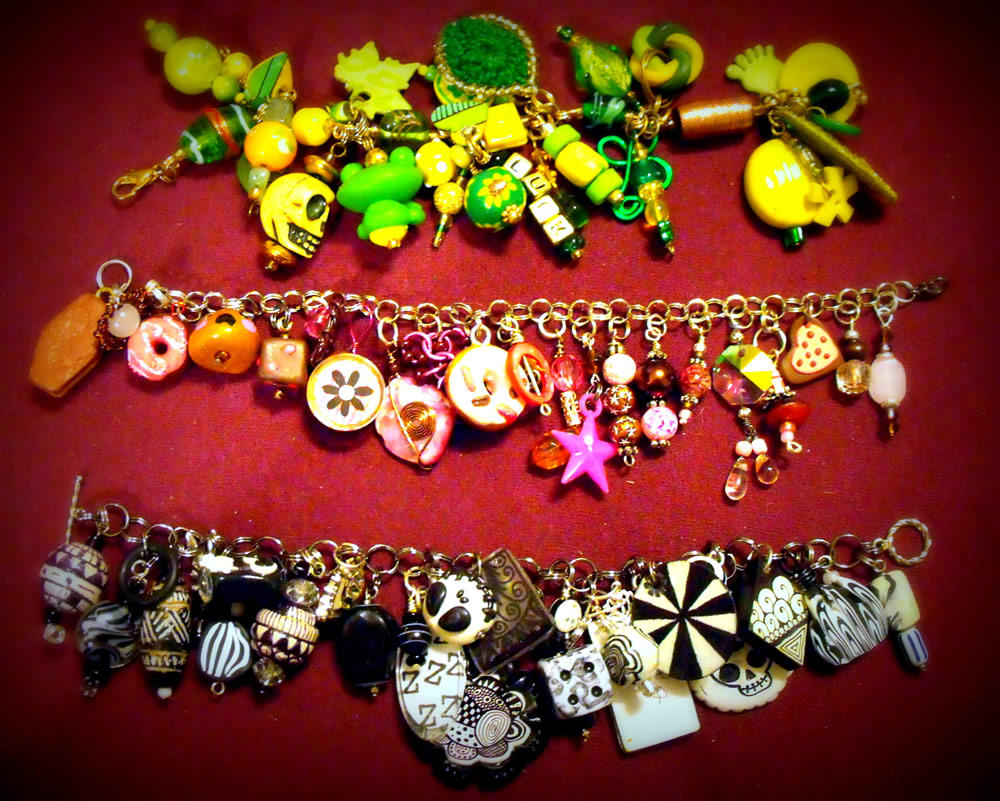 Charm Bracelet Collection 4 by mintdawn