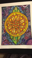 Watercolor Wheel by mintdawn