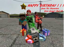 Happy Birthday Yoshinator by zxnes
