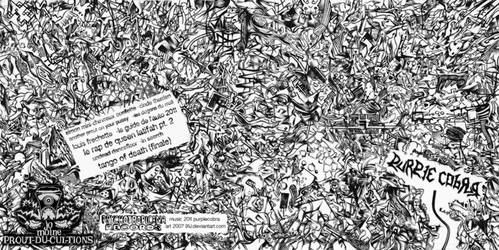 Purplecobra 2011 CD front and back art (2007) by sega-uranus