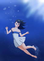 Swimming In The Deep by GelDibson