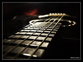Acoustic guitar by nSharky