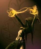::Necromancer by AshenWolf