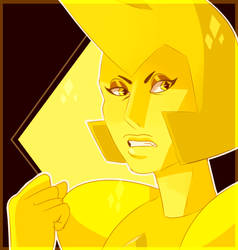 Yellow Diamond by Ironicmemeing