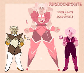 Rhodochrosite fusion + components adopt OPEN $65AU by Ironicmemeing