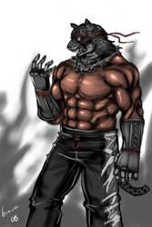 Tekken - Armor King by buuzen