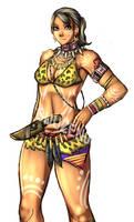 RE5 - tribal sheva by buuzen