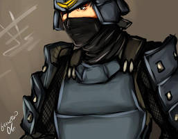 Tenchu - armor rikimaru by buuzen