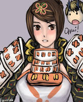 Onimusha DoD - Ohatsu by buuzen