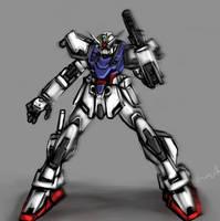 Gundam Seed - Strike Gundam+ by buuzen