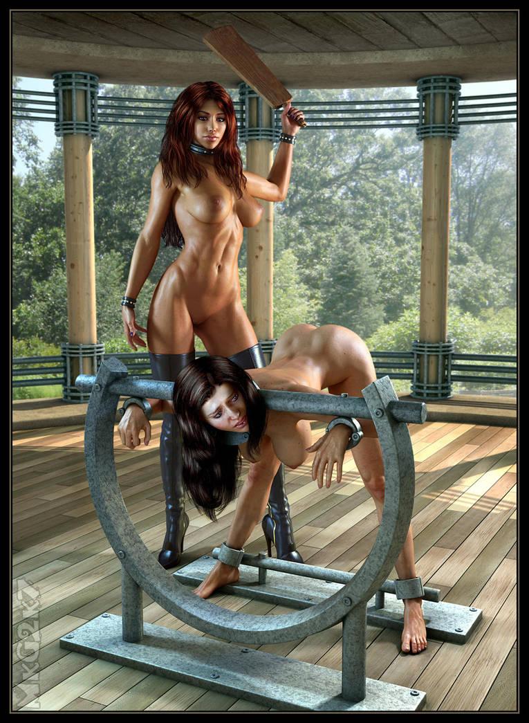 Spanking Mistress by MkGrr