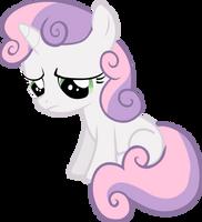 A sad Sweetie Belle by FabulousPony