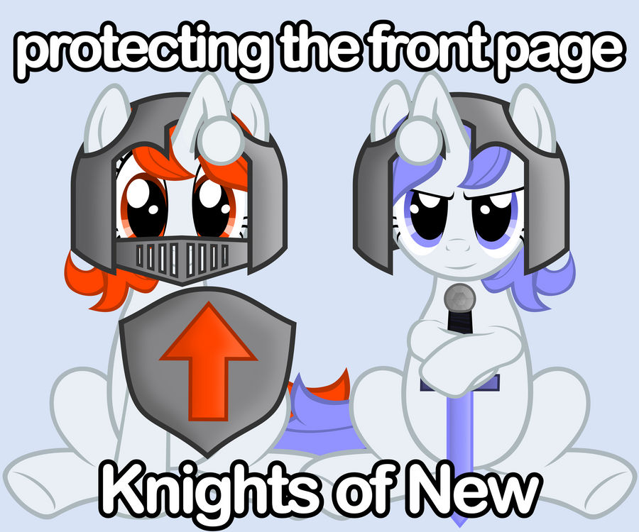 Knights of New by FabulousPony
