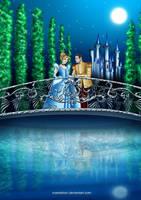 .Cinderella and Prince. by Mareishon