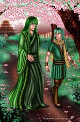 Itsuya and Tarran by Mareishon