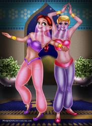 Jessie and Bo Peep by Mareishon