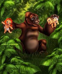 Tarzan's Family by Mareishon
