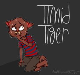Timid Tiger by woop17