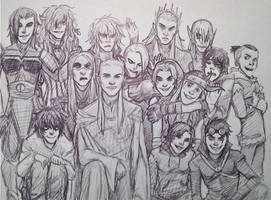 Can you spot the Fangirl? by Lillooler