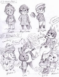 Current ACNL Villagers by Lillooler