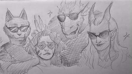 Sunglasses B*tch by Lillooler