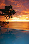 Sunset at my home in Grenada by Anna88