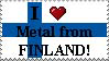 Metal from Finland Stamp by sorcerersapprentice