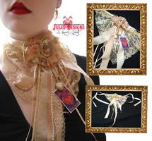Emilie Autumn Inspired Jabot by fudgemallow