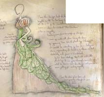 Alice- Original Sketch by fudgemallow