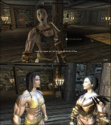 Skyrim - Married with Sylgja by J2001