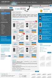 E-SHOP template by roboflexx