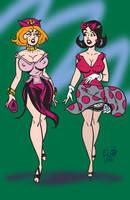 Dan's Girls by LudHughes
