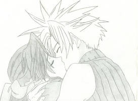 Just One -Cloud X Aerith- by zoya15