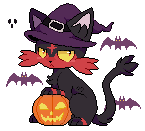 halloween kitty by cutgut