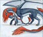 Dieblo and Char by Kuuda