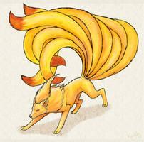 Ninetails by Kuuda