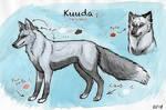 Kuuda - Feral reference sheet 2018 by Kuuda
