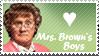 Mrs Brown's Boys Stamp by Kaosah