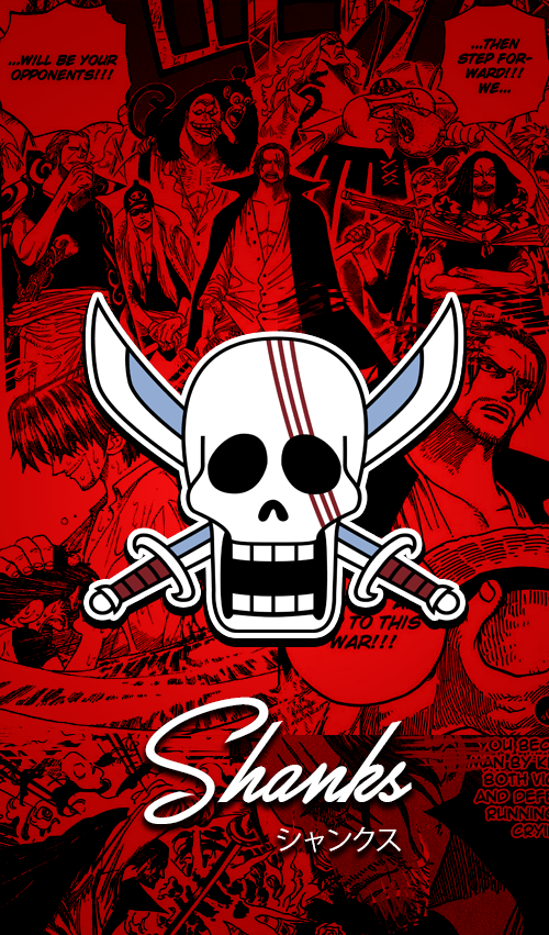 One Piece Wallpapers Mobile New World Shanks By Fadil089665 On