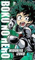My Hero Academia Wallpapers Mobile : Izuku Midori by Fadil089665
