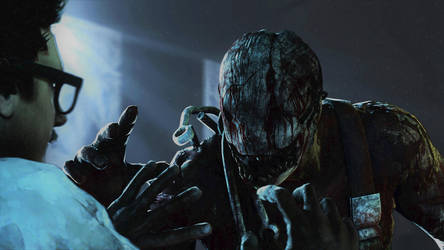 [SFM Dead by Daylight]The trapper by Absolutelynotaspy