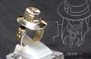 Spider's hat ring by NagiSpider