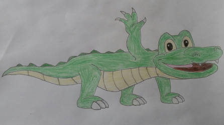 Alligator Drawing by jcpag2010