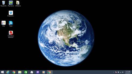 Earth on Waldo's Win8 by jcpag2010