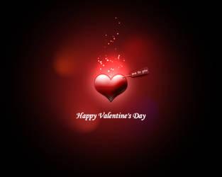 Happy Valentine's Day by serega