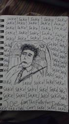 Joe Imbriano Sake! Sketch by LeoReeseo