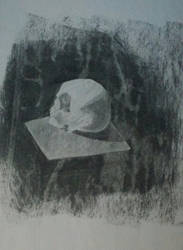 Charcoal class sketch 2 by LeoReeseo