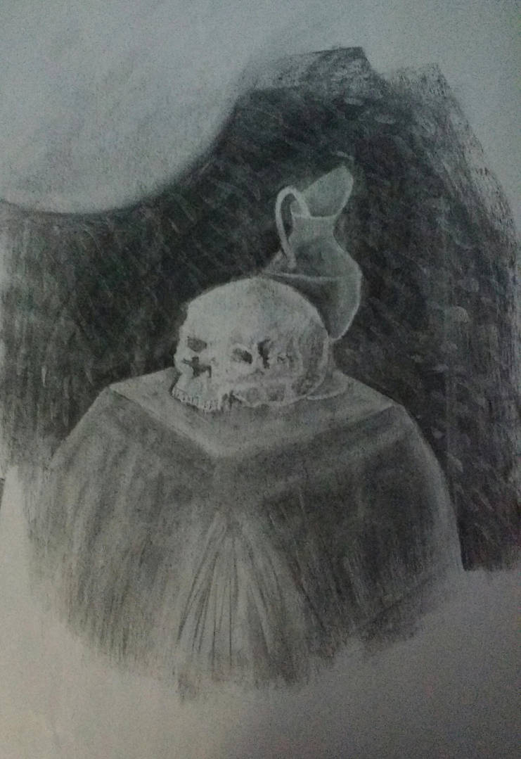Charcoal class sketch 3 by LeoReeseo