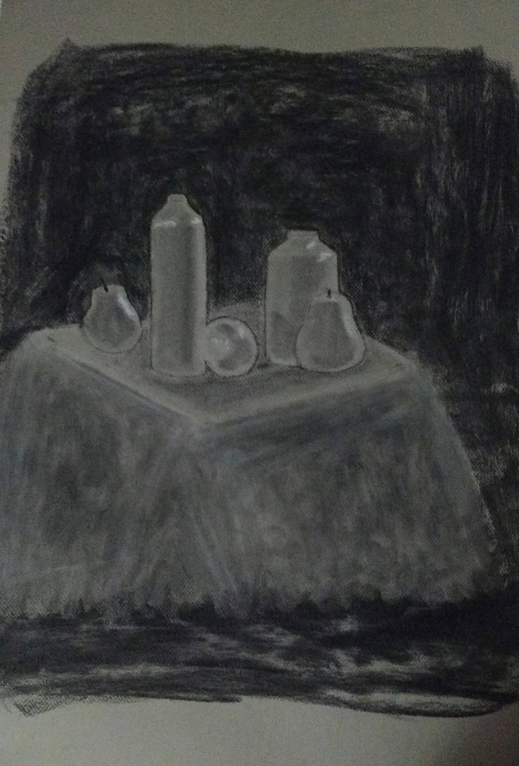 Charcoal Class Sketch 4 by LeoReeseo